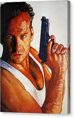Die Hard Canvas Print by Michael Haslam