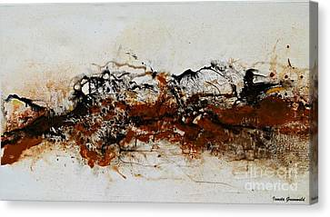 Die Trying1 - Abstract Art Canvas Print