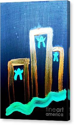 ...died For Freedom... Canvas Print by Jutta Gabriel