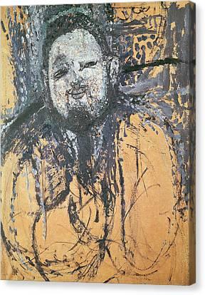 Diego Rivera 1886-1957 1916 Oil On Canvas Canvas Print by Amedeo Modigliani