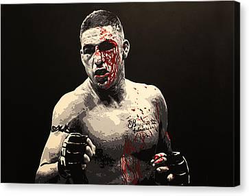 Diego Sanchez - War Canvas Print