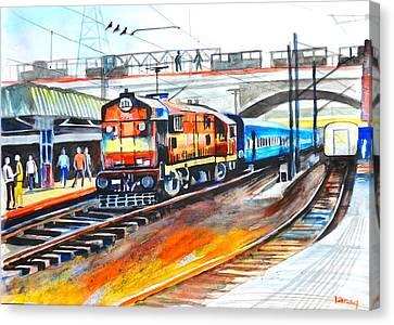 Diesel Engine Canvas Print