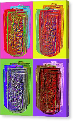 Diet Coke - Coca Cola Canvas Print