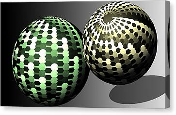 Different Worlds Canvas Print by John Hines