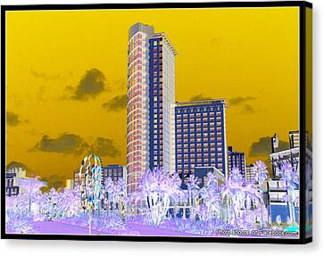 Digital Art Canvas Print by JJ Cross