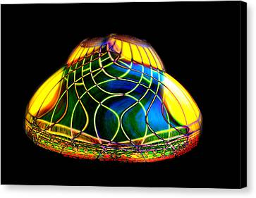 Digital Lamp Shade Canvas Print
