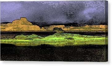 Digital Powell Canvas Print by David Hansen