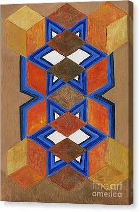Dimensional Portal Canvas Print