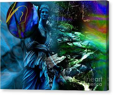 Dimensions Canvas Print by Allison Ashton