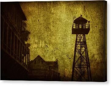 Alcatraz Canvas Print - Diminished Dawn by Andrew Paranavitana
