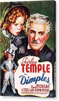 Dimples Canvas Print by Movie Poster Prints