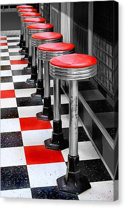 Diner #2 Canvas Print by Nikolyn McDonald