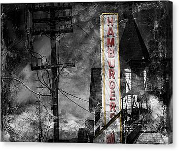 Diner 4c Canvas Print by Andrew Fare