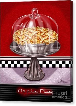 Diner Desserts - Apple Pie Canvas Print