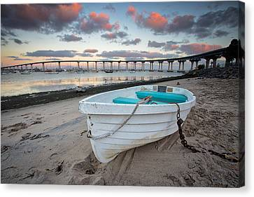 Dinghies Canvas Print - Dinghy I by Peter Tellone