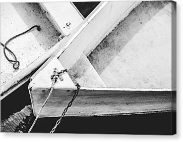 Dinghy Canvas Print by Robert Clifford