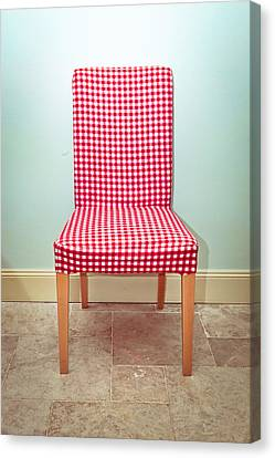 Dining Chair Canvas Print by Tom Gowanlock