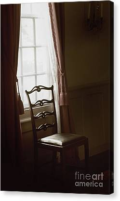 Dining Room Window Canvas Print by Margie Hurwich