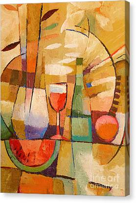 Dining Table Canvas Print