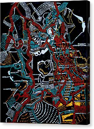 Dinka - South Sudan Canvas Print by Gloria Ssali