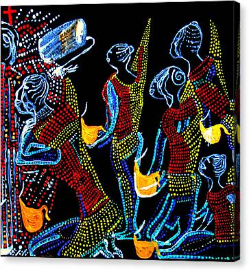 Dinka Wise Virgins Canvas Print