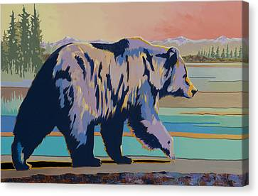 Dinner Time Canvas Print by Bob Coonts