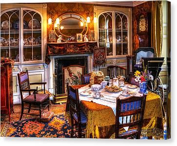 Dinning Room Canvas Print by Svetlana Sewell
