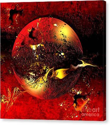 The Universe Canvas Print - Dinyx by Franziskus Pfleghart