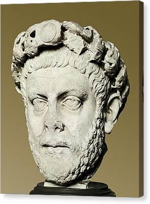 Dioclecian 245-316. Roman Emperor Canvas Print