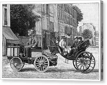 Dion Steam Carriage Canvas Print by Science Photo Library