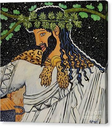Carolinestreet Canvas Print - Dionysus  by Caroline Street
