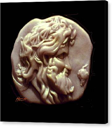 Dionysus Canvas Print by Patricia Howitt