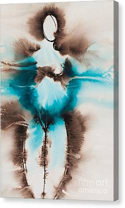 Diosa Madre Series No. 2166 Canvas Print by Ilisa Millermoon