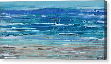 Dip In The Sea      Canvas Print