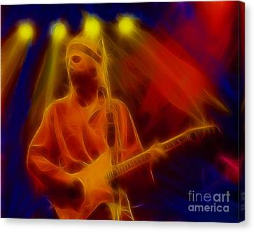 Dire Straits-4-fractal Canvas Print by Gary Gingrich Galleries