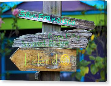 Directions In Life Canvas Print