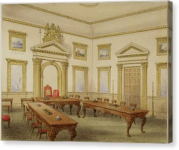 Director's Court Room At East India House Canvas Print