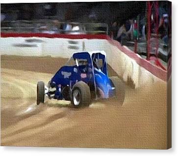 Dirt Trackin' Canvas Print by Dennis Buckman