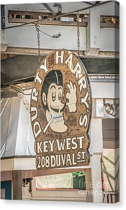 Dirty Harry's Key West - Hdr Style Canvas Print