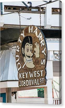 Dirty Harry's Key West  Canvas Print