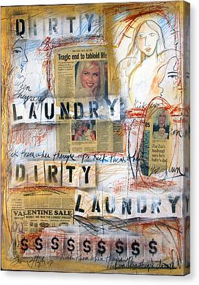 Dirty Laundry Canvas Print by Gerry High