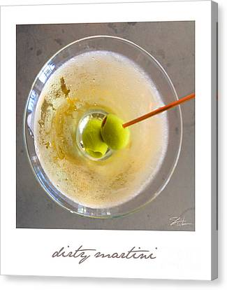 Dirty Martini Poster Canvas Print
