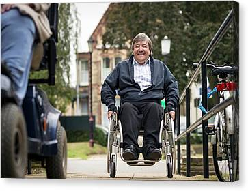 Disabled Access Canvas Print