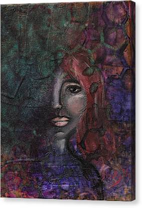Disappearance Of Sophie Canvas Print by Donna Blackhall