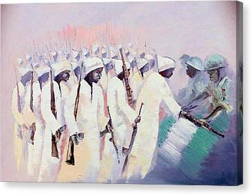 Canvas Print - Disarmament  by Oyoroko Ken ochuko