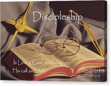 Discipleship Canvas Print