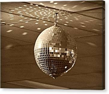 Disco Ball Canvas Print