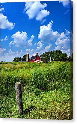 Discover Wisconsin Canvas Print by Phil Koch
