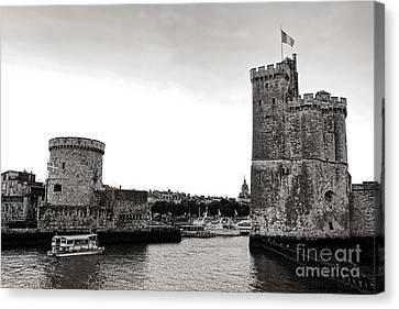 Medieval Entrance Canvas Print - Discovering La Rochelle by Olivier Le Queinec