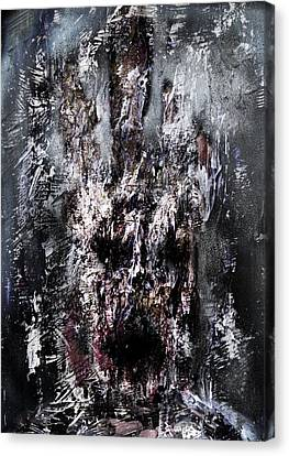 Disgusting Face Canvas Print by Nguyen Duc Minh